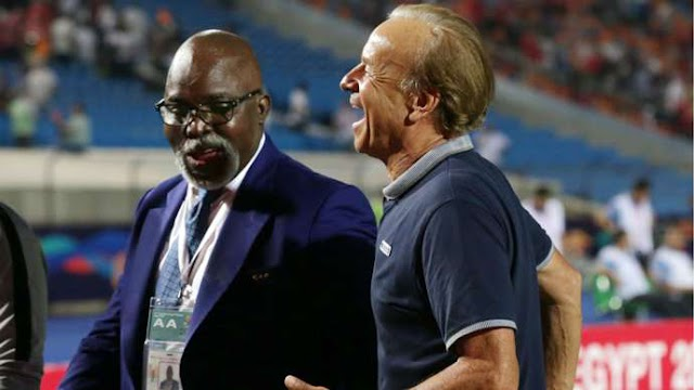 Genort Rohr To Remain As Super Eagles Head Coach _ NFF