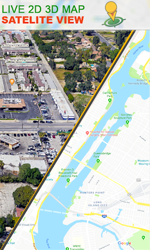 Download Voice Navigation Street View Live GPS Map Tracking Google