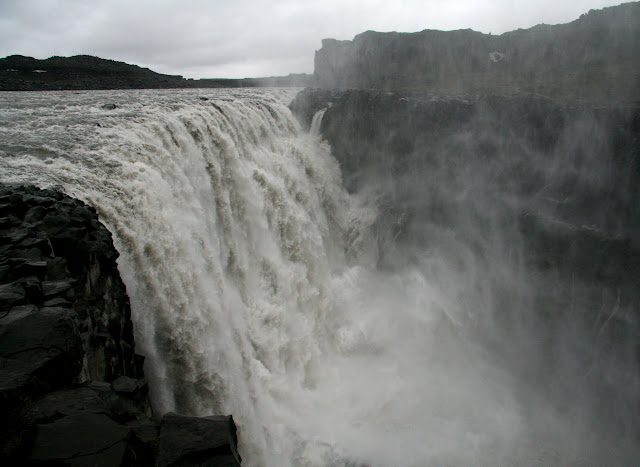 Dettifoss, most powerful waterfall in Europe