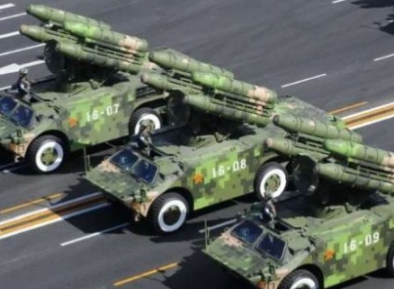 WAR: China show off their new weapons