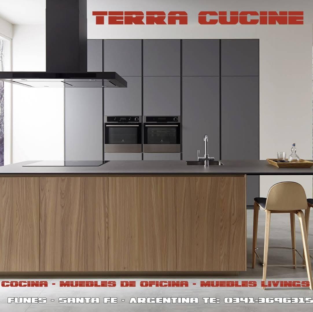 Terra Cucine Muebles De Cocina A Medida Muebles De Cocina  # Muebles Melamina Rosario