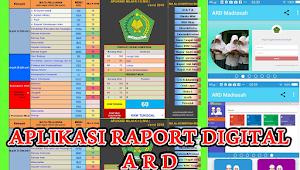 [Excel] Aplikasi Raport Digital (ARD) Jenjang MI, MTs, MA Tahun 2021