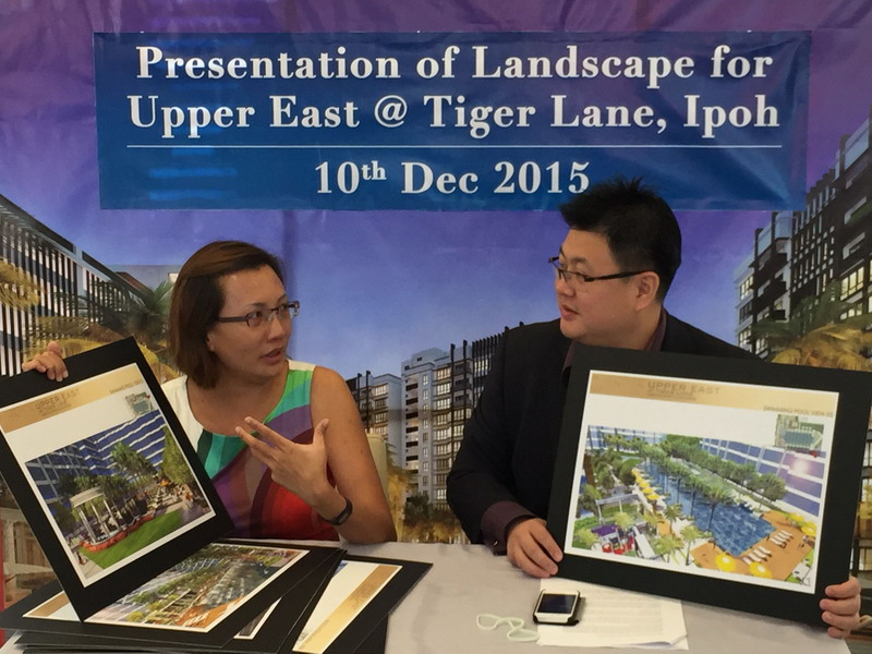 Landscape Presentation of Upper East @ Tiger Lane by Site Concepts International Pte. Ltd.