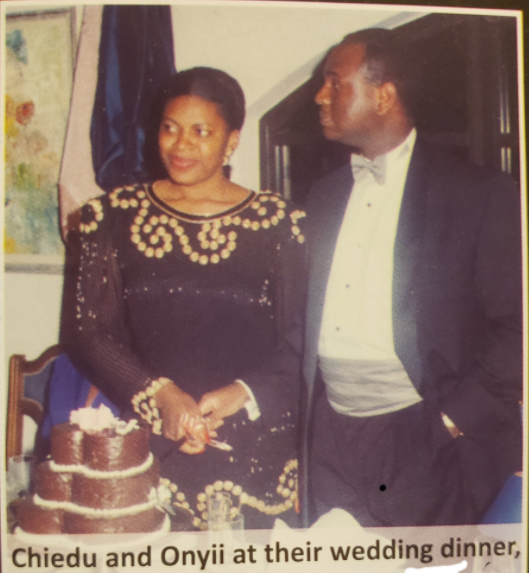 """""""I would do it all over again"""" Kingsley Moghalu's wife, Maryanne celebrates their 26th wedding anniversary"""