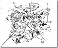 tortugas ninja colorear (8)