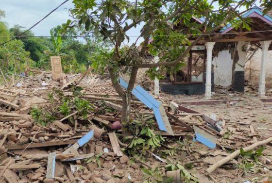 Dua Rumah Hancur, Dua Warga Tewas akibat Ledakan di Pasuruan