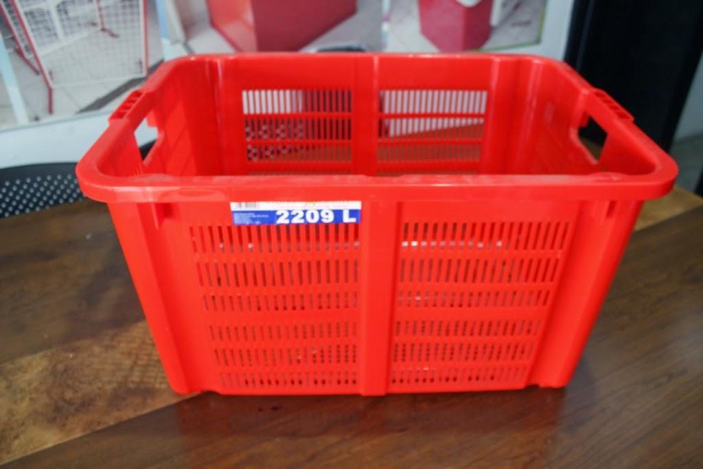 JUAL KERANJANG KONTAINER PLASTIK TIPE 2209 L | www.rajarakminimarket.com | RAJA RAK INDONESIA | JAKARTA