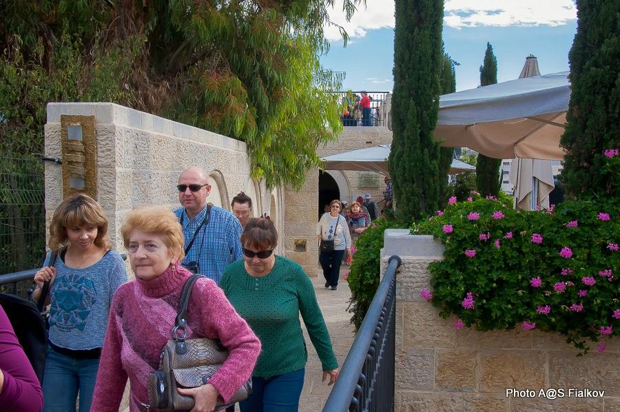 Экскурсия в Городе Давида. Гид в Израиле Светлана Фиалкова.
