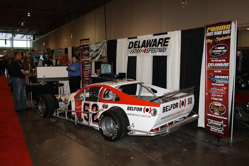 Delaware Speedway's display.