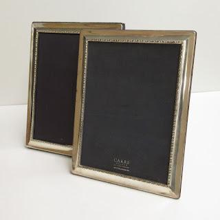 Sterling Carr's Beaded Frame Pair
