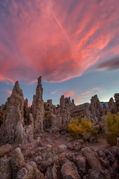 Photo: Sunset at Mono Lake Friday Night The Labor Day holiday weekend crowds are out, but at sunset at Mono Lake on Friday I managed to find a few feet of space without people in it.  www.JeffSullivanPhotography.com #monolake   #easternsierra   #california #landscapephotography   #photographyworkshops