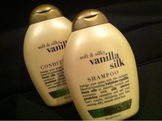 Myrick Hair: Product review: Organix vanilla silk