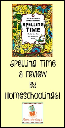 Spelling Time a review by Homeschooling6