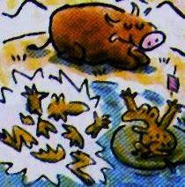 Les fables de ph dre la grenouille clat e et le b uf - Image la grenouille et le boeuf ...