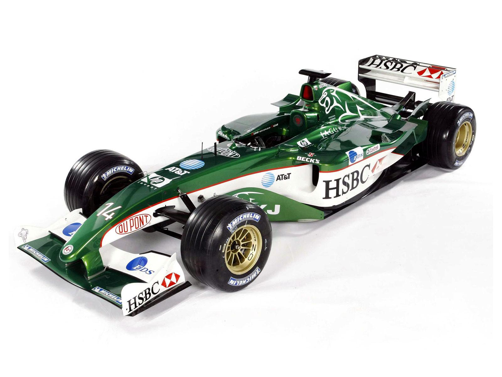 F1 Launch Jaguar R4