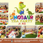 Dinosaur Tea Party by Jr.KG Section (2018-19), Witty World, Goregaon East