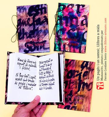 Un pagès i un somni, llibre a mida a Llibres Artesans