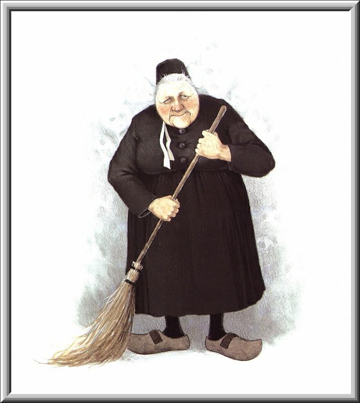 Halloween Witch Broom 2, Scary Halloween