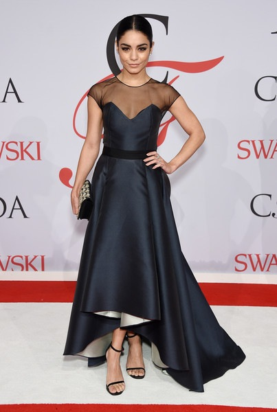 Vanessa Hudgens attends the 2015 CFDA Fashion Awards
