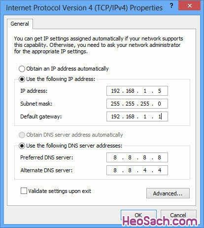 Hình 3 - Cách khắc phục lỗi trên Windows 8 và Windows 8.1