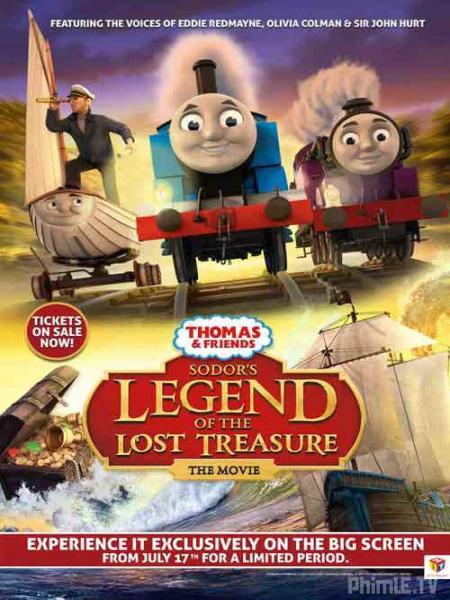 Thomas & Những người bạn: Truyền thuyết kho báu bị mất của Sodor