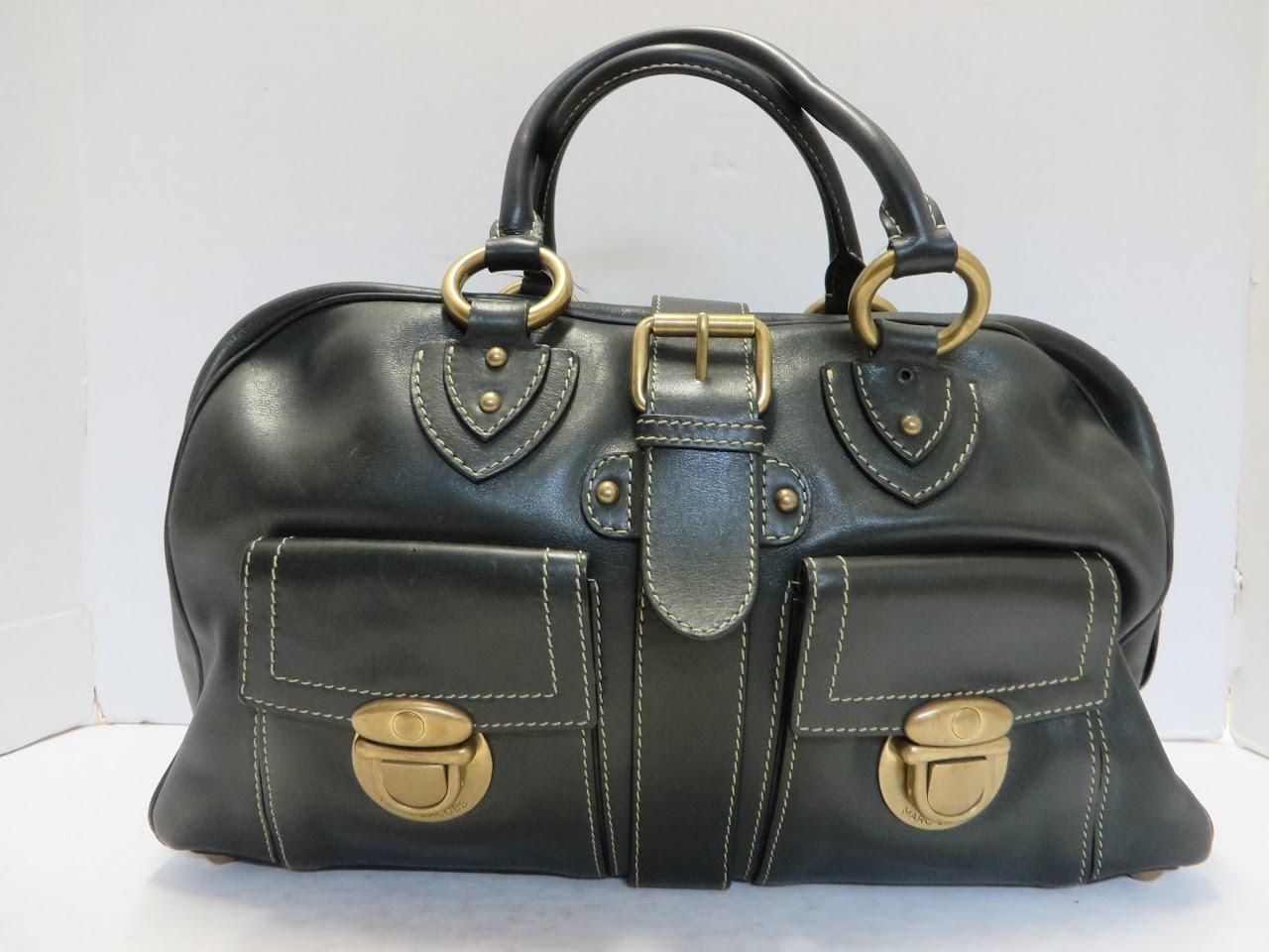 Marc Jacobs Forest Green Shoulder Bag