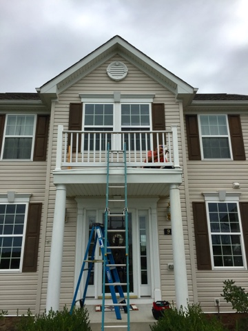 Taking down porch to nowhere
