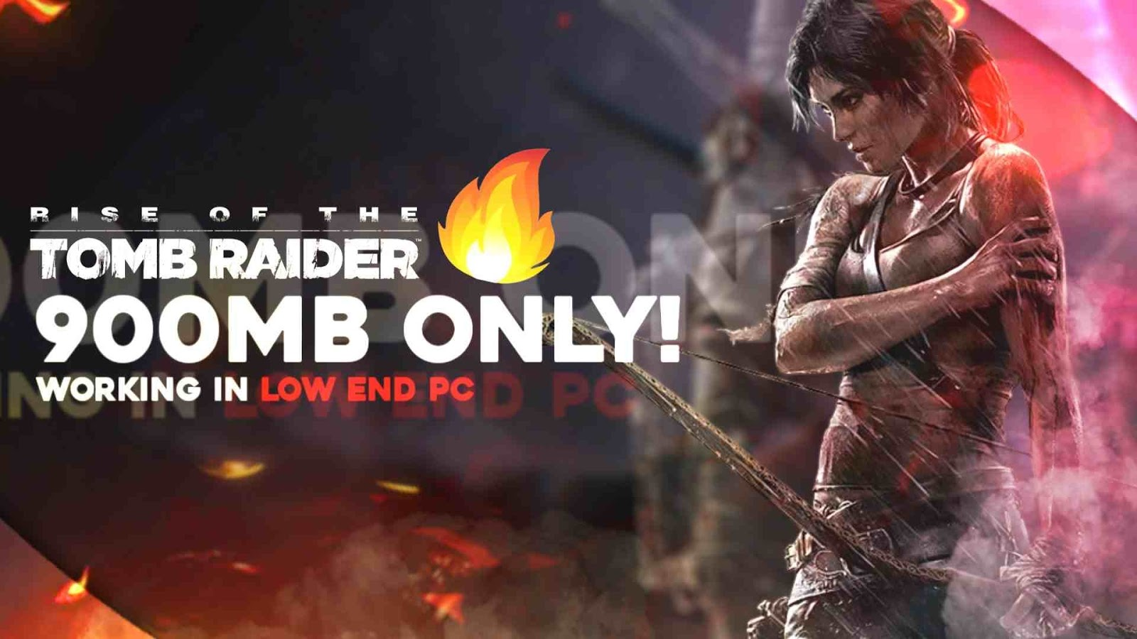 Tomb Raider PC Game Highly Compressed