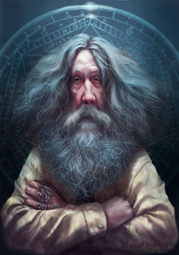 Alan Moore By Diego Maia - 1