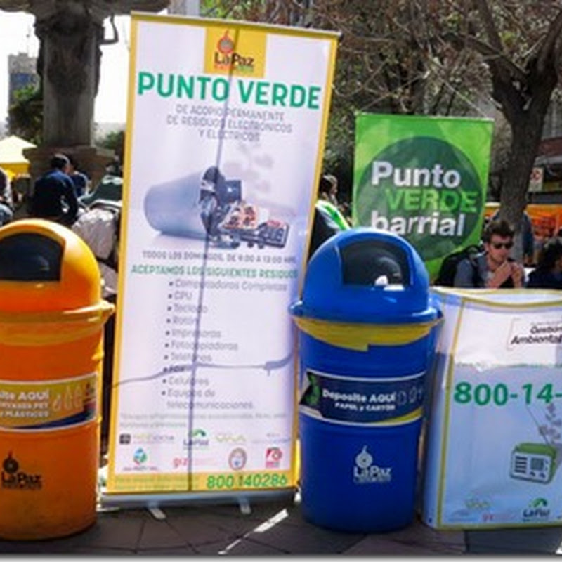 Alcaldía inicia recolección diferenciada de residuos en Ingeniería de la UMSA