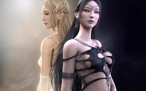 Voice Of Elegant Magician, Fantasy Girls 3
