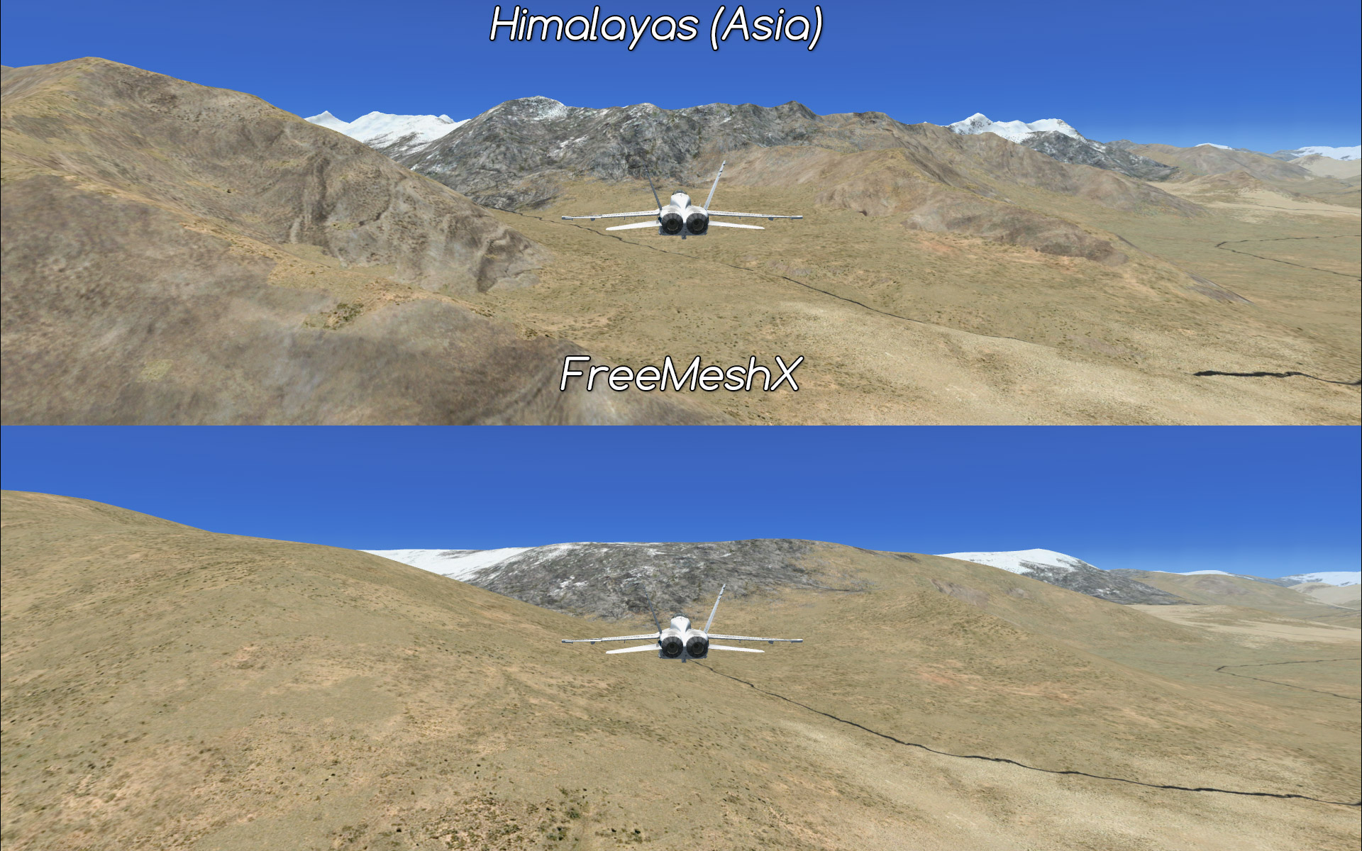 FreeMeshX - freeware mesh for FSX and P3D • C-Aviation