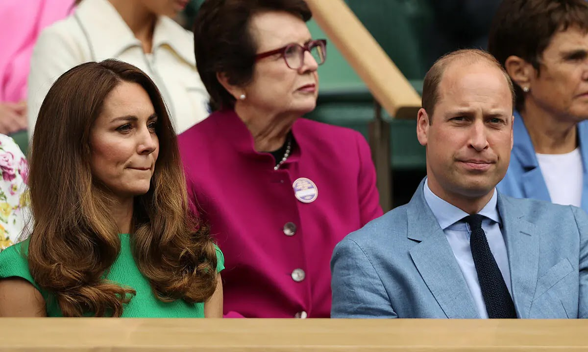 Prince William and Kate Middleton Forced to Delete Tweet After Wimbledon Women's Final