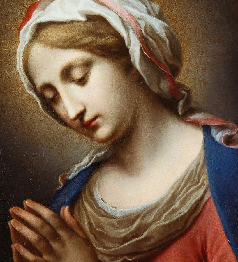 Carlo Dolci - The Virgin Annunciate