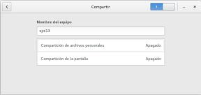 Configurar el sistema. Accesibilidad en Linux y otros. Compartir 2.
