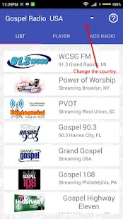 International Gospel Radio- screenshot thumbnail