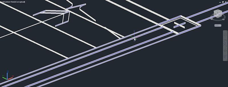 เทคนิคการแก้ปัญหาการนำไฟล์จาก AutoCAD เข้ามาใช้งานแล้วมีพื้นผิวติดมาด้วย Cad3d2d