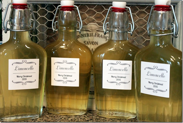 Limoncello bottles 2