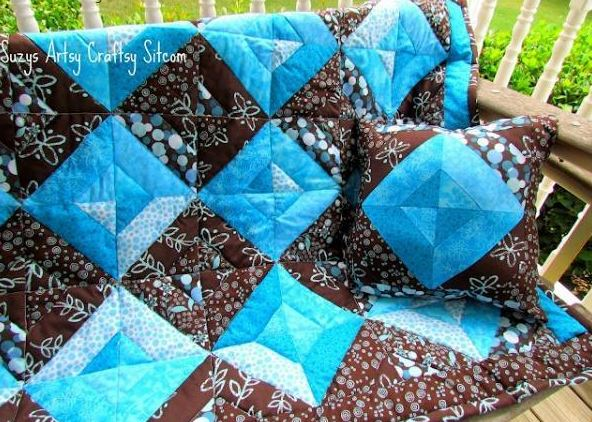 Summer Jewels Jelly Roll Quilt - Pattern on Craftsy