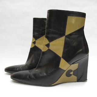 Fendi Wedge Boots
