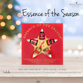Young Living Gift Ideas Holiday Catalog 2018 Essence of the Season A