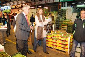 Control oficial de los productos alimentarios de Madrid Salud en Mercamadrid
