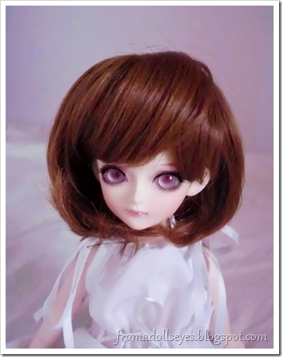 Of Bjd Hair: Reviewing Three Wigs? From Alice's Collections AFB6030 Brown wig for yosd bjds.