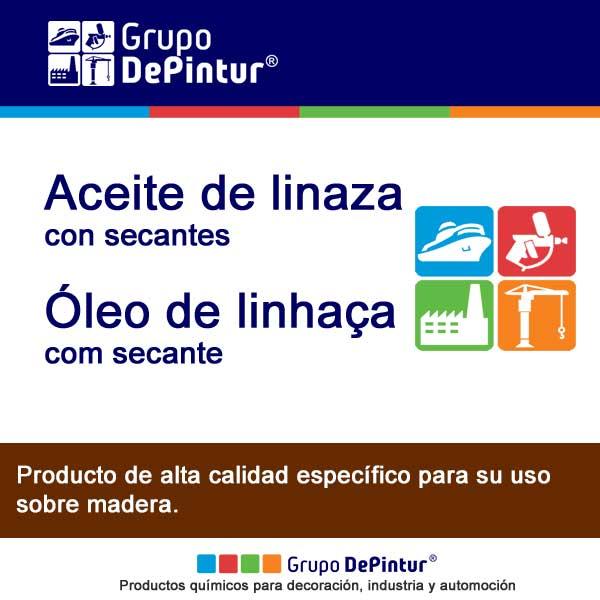 ACEITE DE LINAZA CON SECANTES