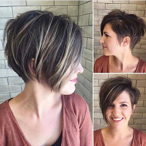 Latest Short Haircuts For Woman 2018 3