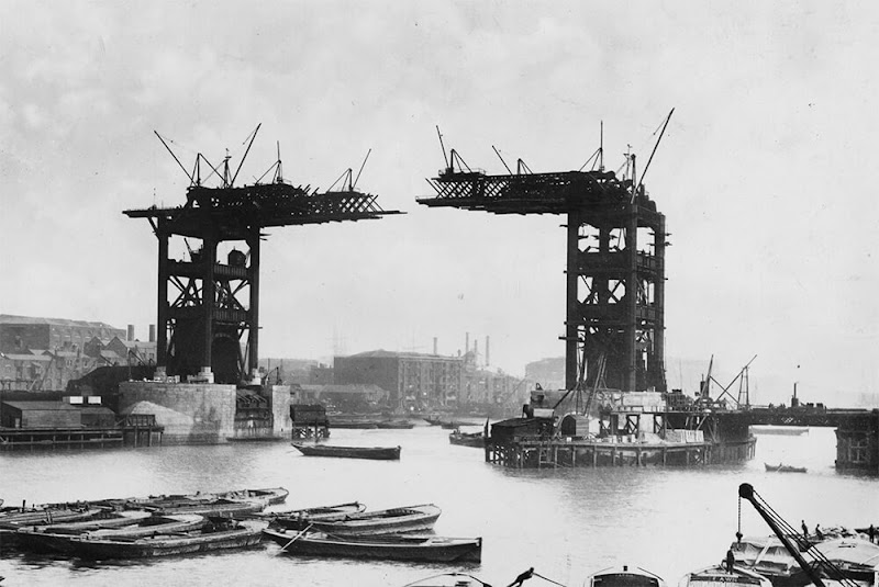 Under Construction Picture of Tower Bridge of London
