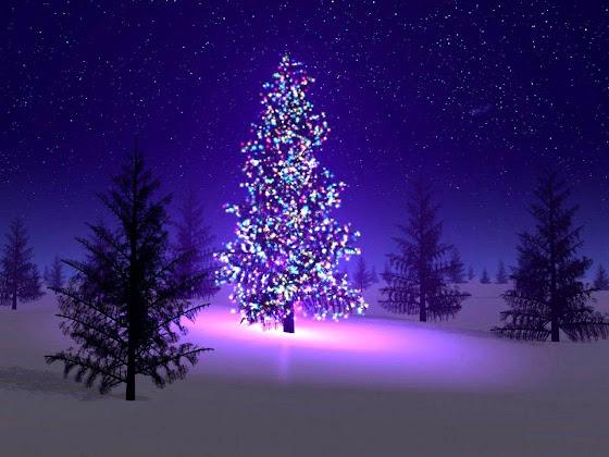 besplatne Božićne pozadine za desktop 1280x960 free download čestitke blagdani Merry Christmas svjećice za bor