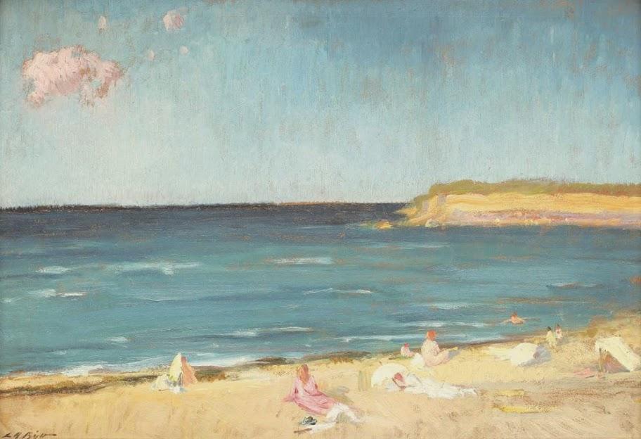 Leon Biju - La plajă