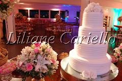 Fotos de decoração de casamento de Casamento Kamila e Fernando no Círculo Militar da Praia Vermelha da decoradora e cerimonialista de casamento Liliane Cariello que atua no Rio de Janeiro e Niterói, RJ.