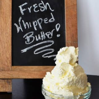 Fresh Whipped Butter.